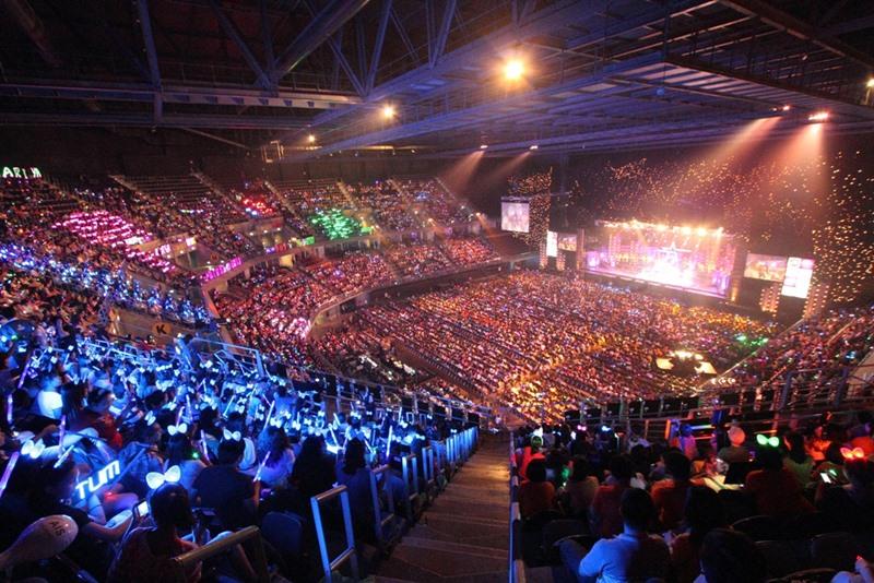 Sân khấu Impact Arena tại Bangkok, Thái Lan