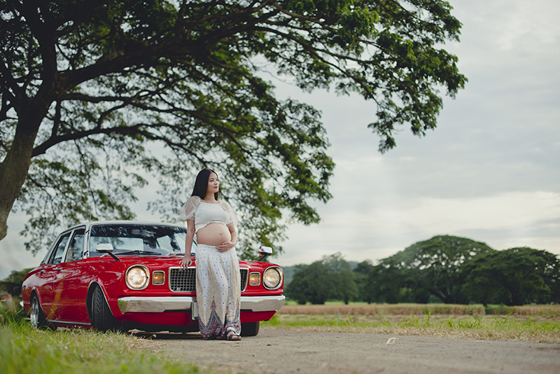 Cẩm nang lái xe dành cho mẹ bầu