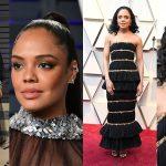 Nữ diễn viên Tessa Thompson hóa thân thành nàng thơ Chanel tại Oscar 2019 như thế nào?
