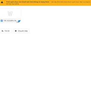 Gmail đang bị lỗi không tải được tệp đính kèm?