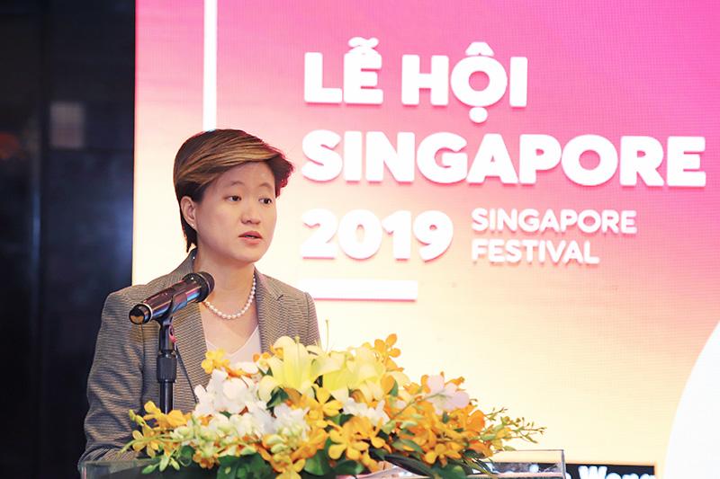 Bà Catherine Wong Siow Ping, Đại sứ Singapore tại Việt Nam