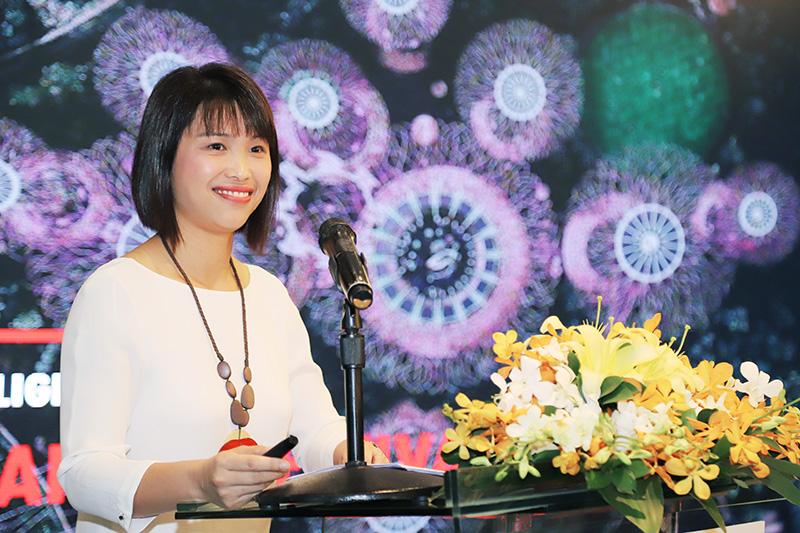 Bà Sherleen SEAH - Trưởng Đại Diện Văn phòng Tổng cục Du lịch Singapore