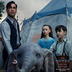 """Điểm danh dàn diễn viên tài năng của phim """"Dumbo – Chú voi biết bay"""""""