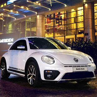 Tiệc tối 5 sao lãng mạn khi mua xe Volkswagen Beetle Dune