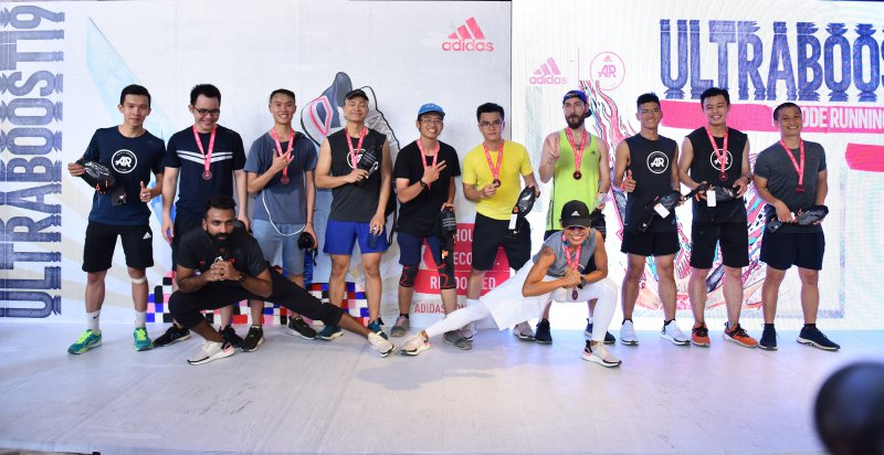 adidas, ultraboost, recod running festival, district race, chạy bộ