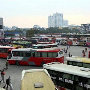 Hà Nội xử lý nghiêm xe lòng vòng đón khách tại khu vực Bến xe Mỹ Đình