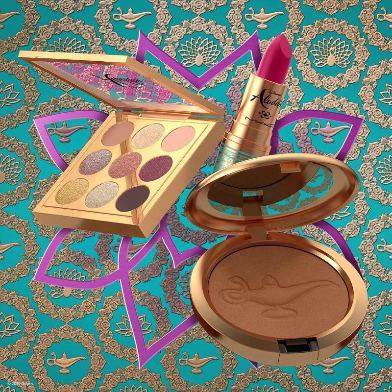 bộ sưu tập mỹ phẩm Aladdin