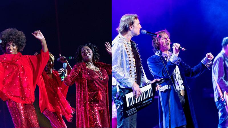 Hơn 4.000 khán giả nhảy múa cuồng nhiệt cùng hai ban nhạc huyền thoại – Joy & Boney M tại Hà Nội