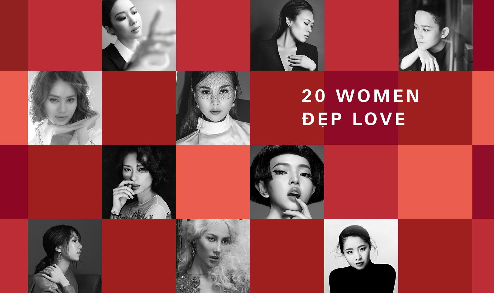 20 Women Đẹp Love