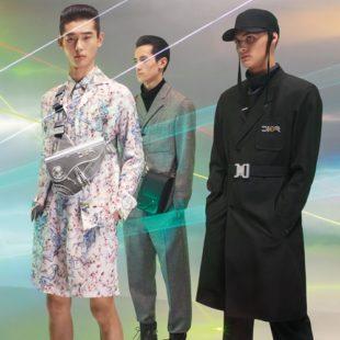 Dior Men tung hình ảnh quảng bá BST Chớm Thu 2019 với người mẫu mang các sắc tộc khác nhau