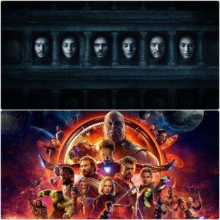 """Hai biểu tượng màn ảnh """"Game of Thrones"""" và """"Avengers"""" đều nói lời tạm biệt vào tháng 4"""