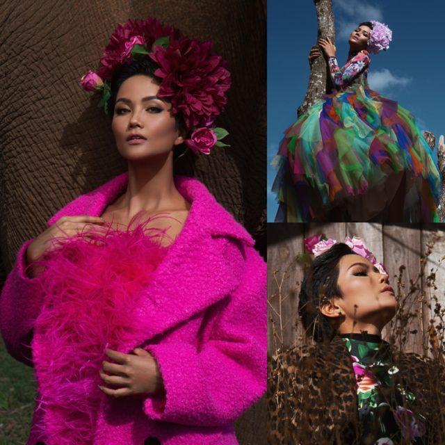 Hoa hậu H'Hen Niê rực rỡ giữa núi rừng Tây Nguyên trong các thiết kế của NTK Đỗ Mạnh Cường