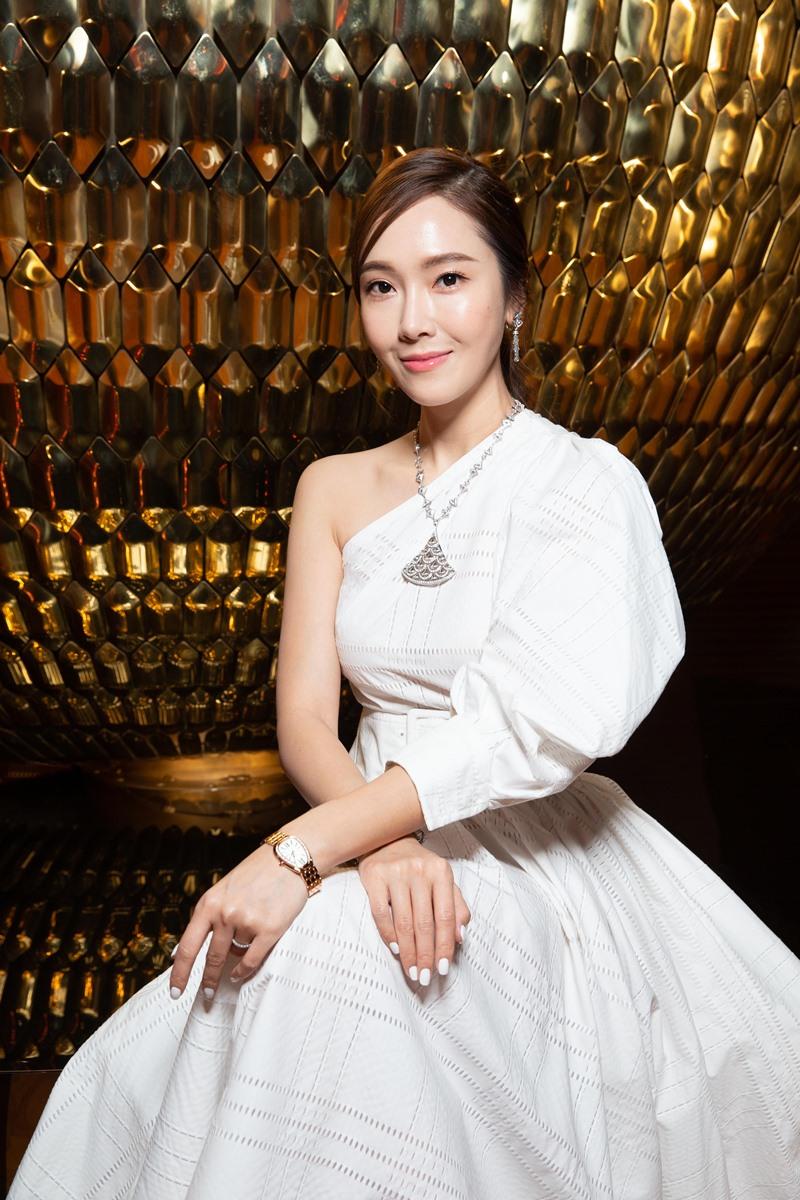 jessica jung, thư kỳ, bvlgari, thụy sĩ
