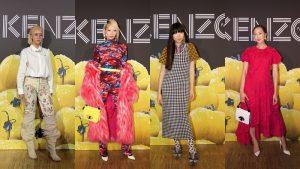 """Quỳnh Anh Shyn """"đọ"""" style không đụng hàng với các fashionista lừng lẫy tại show Kenzo"""