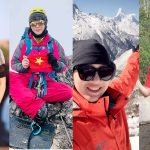 Bốn người đẹp Việt mê chinh phục những đỉnh núi