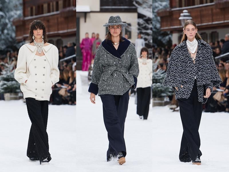 Những chiếc áo khoác cho mùa Thu Đông 2019 dày dặn hơn với những phom dáng đa dạng.