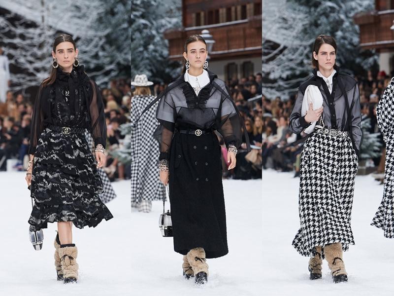 Sự xen kẽ giữa các yếu tố nam tính và nữ tính trong những sáng tạo của Chanel luôn tạo được sức hút lôi cuốn.
