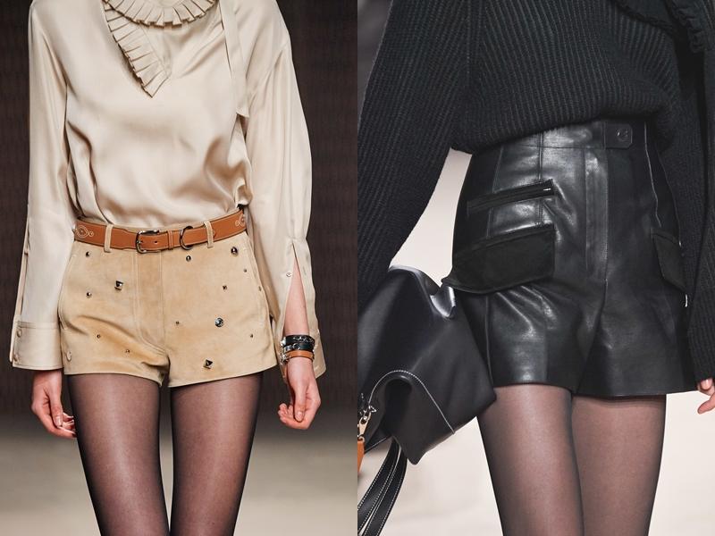 Những thiết kế quần shorts bằng da thuộc hoặc da lộn cho mùa Thu Đông 2019, chỉ có Hermès mới thuyết phục được khách hàng bằng những sáng tạo của mình.