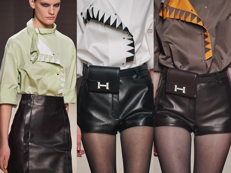 """Những chiếc túi belt mang dáng dấp của thiết kế túi Constance """"hot hit"""" của Hermès chắc hẳn sẽ khiến những tín đồ thời trang thổn thức."""