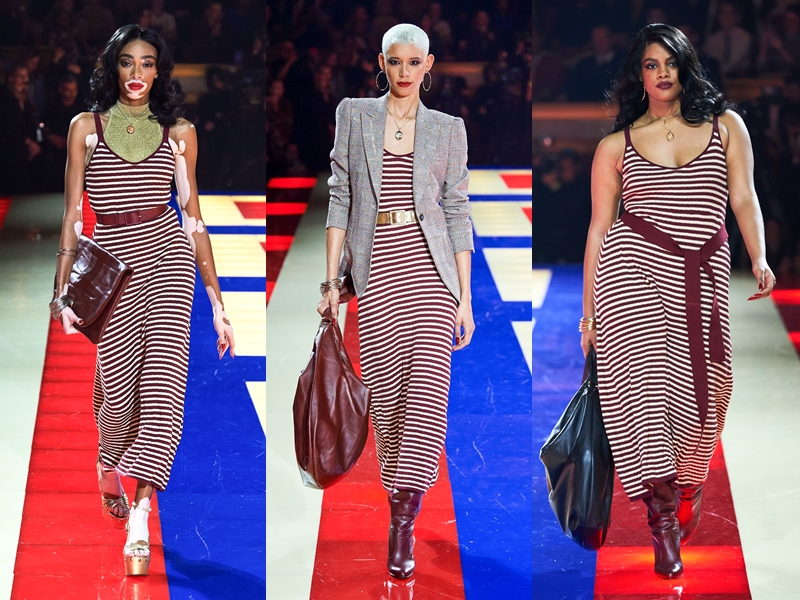 Phong cách mang đậm âm hưởng từ thập niên xưa cũ được thể hiện rõ rệt trong BST Tommy Hilfiger x Zendaya.