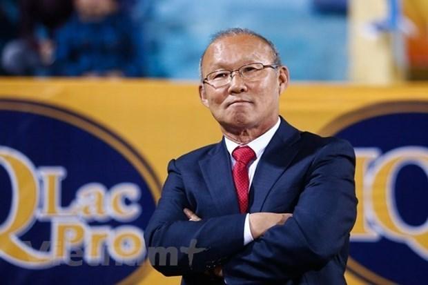 HLV Park Hang-seo được mời làm đại sứ chương trình Sức khỏe Việt Nam