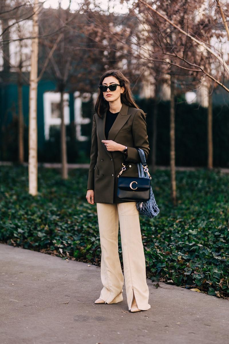 trang phục, công sở, street style