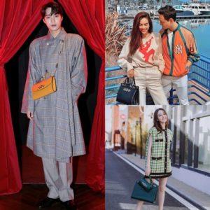 """Hồ Ngọc Hà, Địch Lệ Nhiệt Ba và Kai (EXO) đồng loạt """"lăng-xê"""" túi xách Zumi của Gucci"""