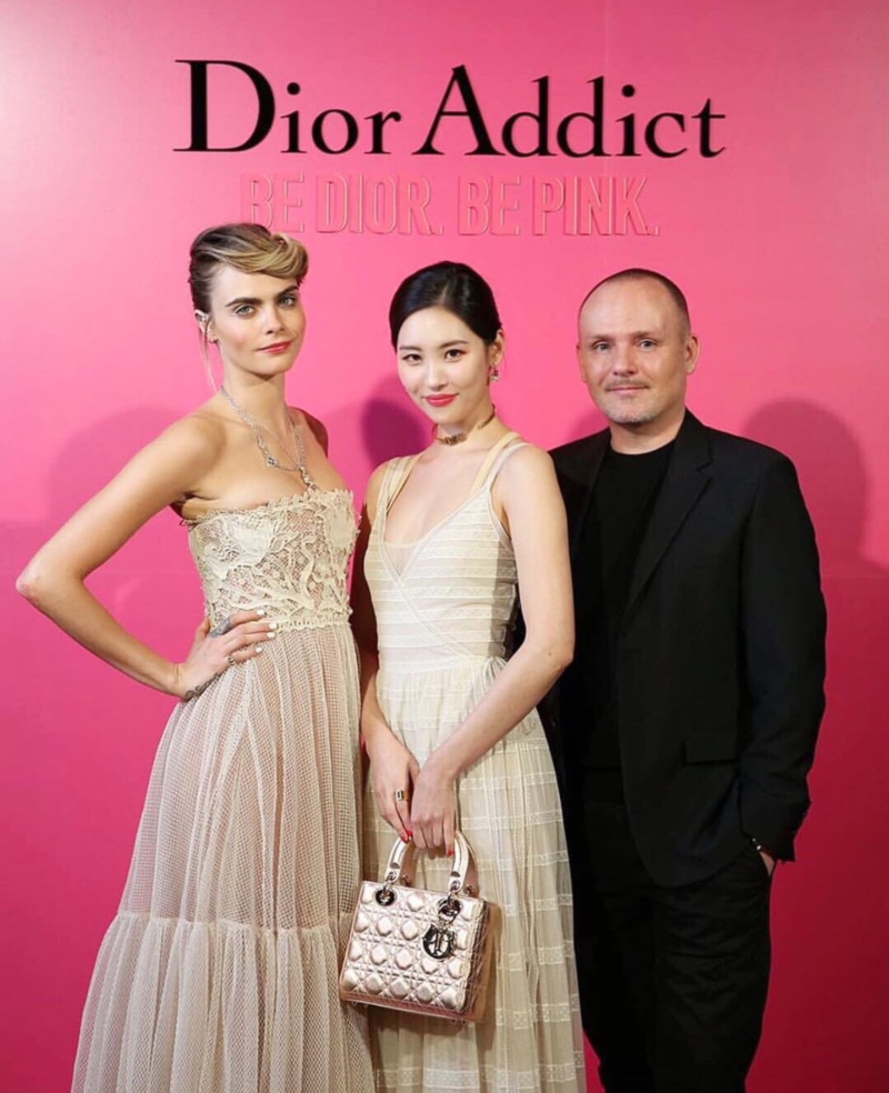 Châu Bùi tham gia sự kiện ra mắt son Dior