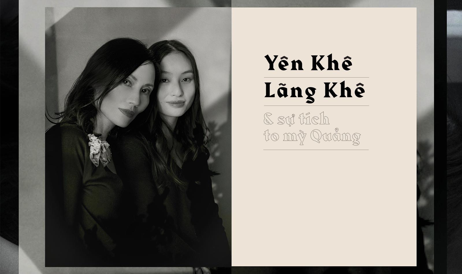 Yên Khê, Lãng Khê & và sự tích tô mỳ Quảng