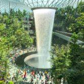 """Theo chân travel blogger Travip khám phá """"khu vườn ma thuật"""" Jewel tại sân bay Changi"""