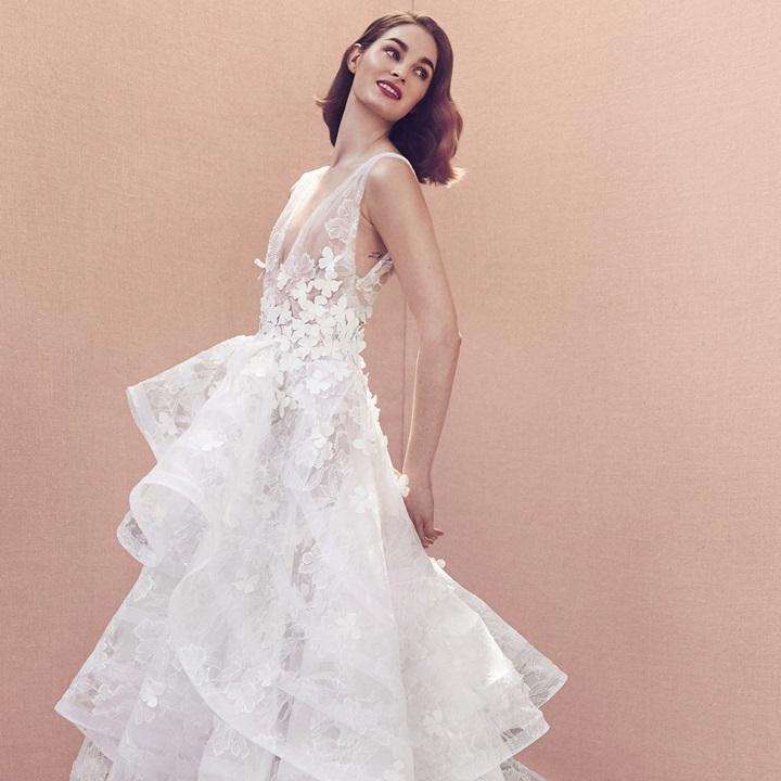 10 BST cưới khiến các cô dâu mê mẩn từ New York Fashion Week Bridal 2019