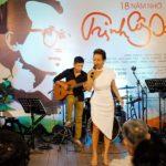 Đêm nhạc 18 năm nhớ Trịnh Công Sơn đong đầy cảm xúc tại Đường sách TP.HCM