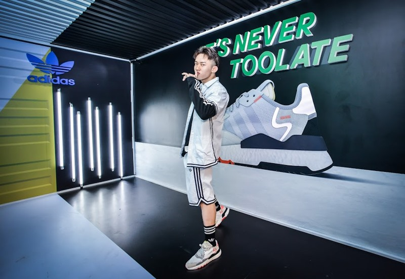 adidas, nite jogger, giày sneaker, day vs. night