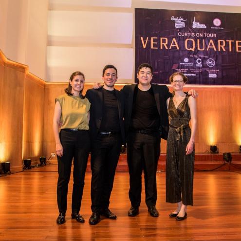"""""""Curtis On Tour: Vera Quartet"""": đêm nhạc tứ tấu đàn dây chinh phục khán giả yêu nhạc thính phòng"""