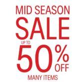 calvin klein jeans, calvin klein underwear, mid season sale