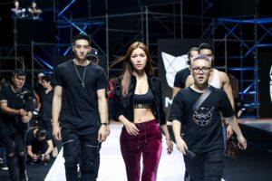 """Minh Tú và rapper BinZ sẵn sàng """"bùng nổ"""" thật ấn tượng trong show """"Meuw Gene"""" của NTK Chung Thanh Phong"""
