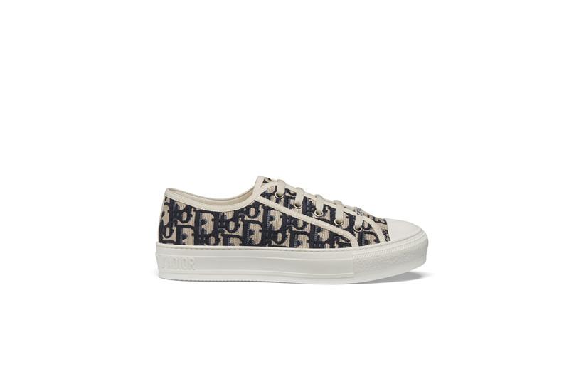 dior, giày sneakers, walk'n'dior, oblique