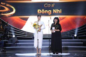 """Giải Âm nhạc Cống hiến 2019 gọi tên Đông Nhi là """"Ca sĩ xuất sắc của năm"""""""
