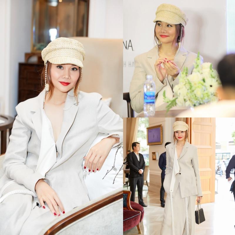 """Thanh Hằng đẹp """"bất phân thắng bại"""" với Hoa hậu Thùy Dung và Quán quân Next Top Nguyễn Oanh"""