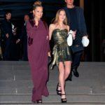 Con gái Kate Moss – Lila Moss xuất hiện đầy rạng rỡ bên cạnh mẹ tại đám cưới NTK Marc Jacobs