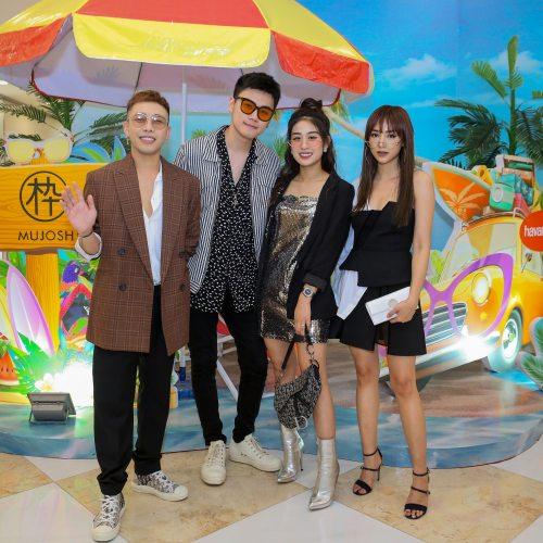 Salim, Hoàng Ku & Trang Lou nổi bật tại sự kiện khai trương MUJOSH & Havaianas tại Hà Nội