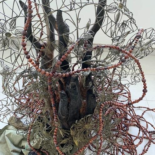 """Thưởng lãm """"Nhựa cây vẫn chảy"""" độc đáo của hai nghệ sĩ Pháp và Việt Nam"""