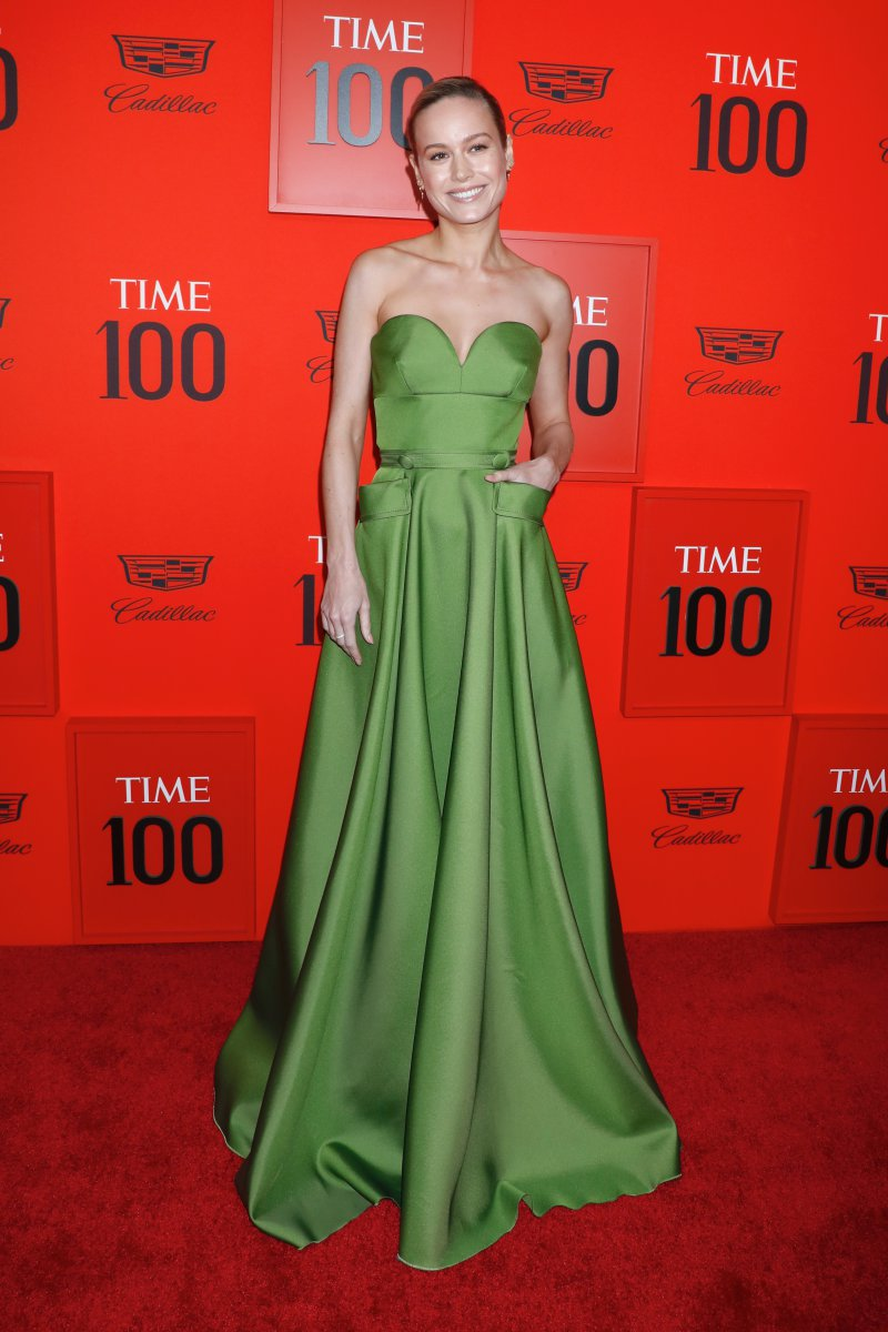 brie larson, captain marvel, avengers, endgame,time 100 gala,
