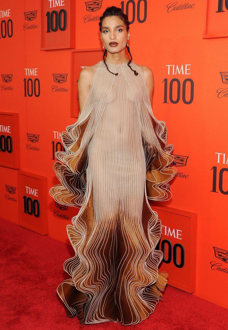 indya moore, iris van herpen, time 100 gala 2019