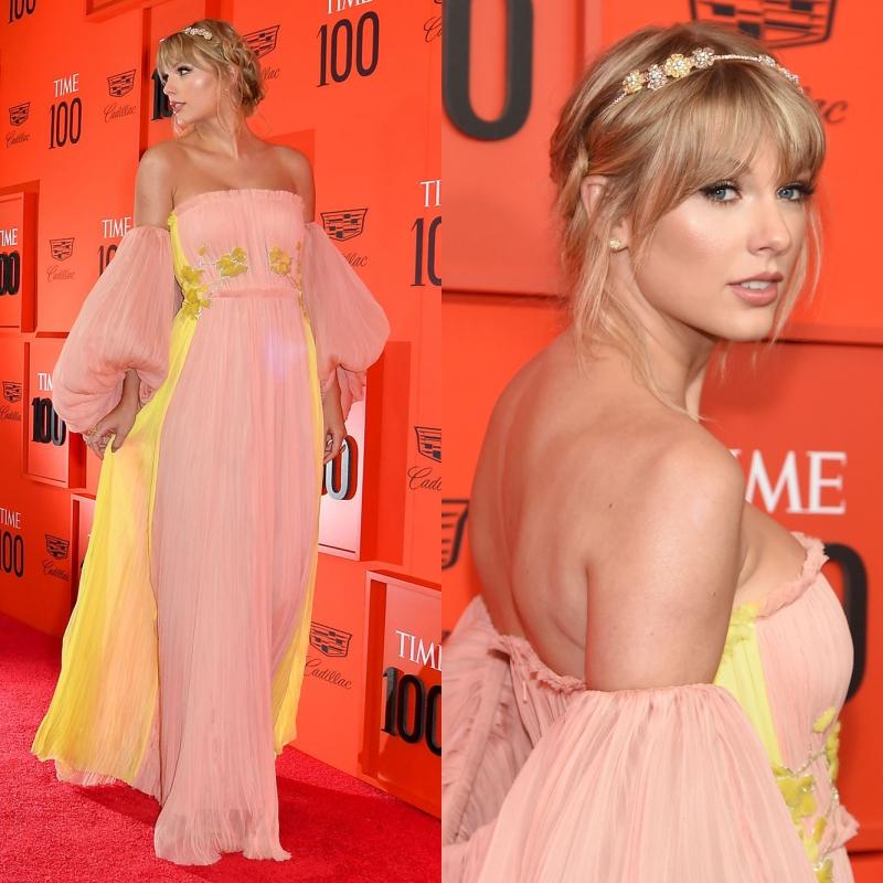 """Taylor Swift hóa thân thành """"công chúa kỳ lân"""" trong thiết kế đầm đẹp tựa kẹo bông của J.Mendel"""
