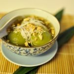 Lạ miệng với món chè trôi nước trà xanh ngày tết Hàn thực