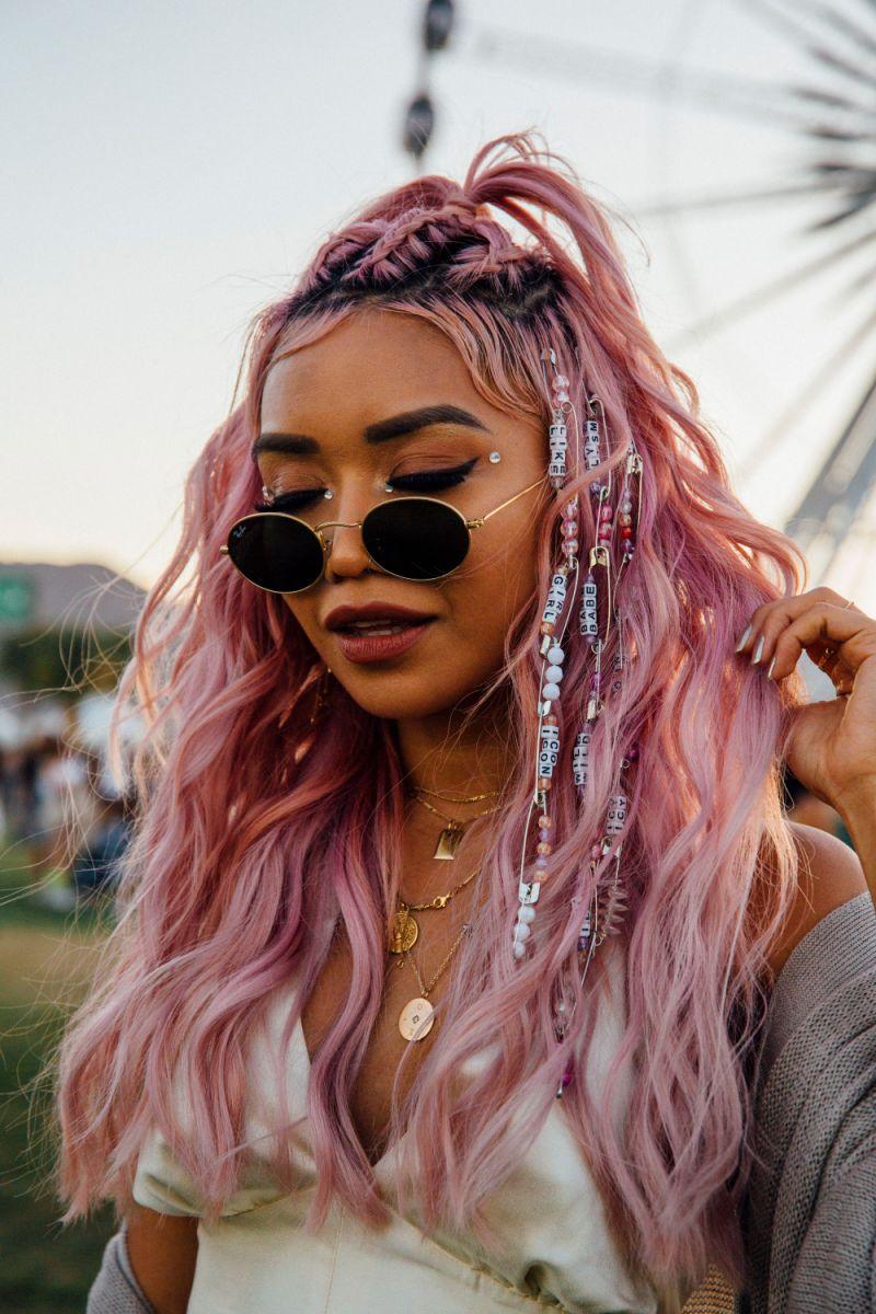 màu tóc thịnh hành tại Coachella 2019