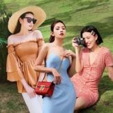 """Crop top """"sương sương"""", váy đầm """"bánh bèo"""" thống trị street style sao Việt"""