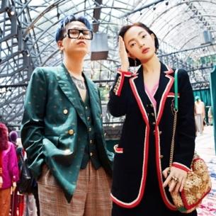 """Châu Bùi – Decao """"đại náo"""" sự kiện của Gucci, nổi bật giữa dàn KOL quốc tế"""