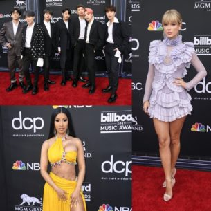 """BTS lịch lãm, Taylor Swift bồng bềnh và Cardi B """"hở bạo"""" trên thảm đỏ Billboard Music Awards 2019"""